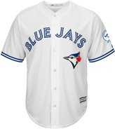 Majestic Toronto Blue Jays 40th Season Men's Cool Base Jersey Home (Small)