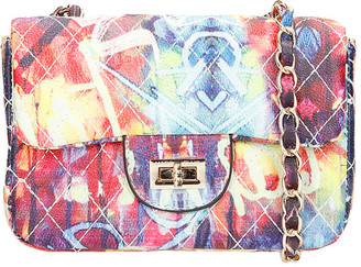 Marc Ellis Ghetty S Shoulder Bag In Multicolor Leather
