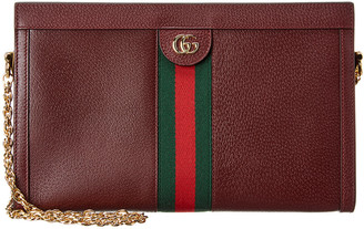 Gucci Ophidia Medium Leather Shoulder Bag