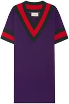 Gucci V-Neck Short Sleeve Dress