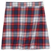 Vineyard Vines Girl's Wool Plaid Skirt