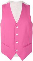 Lc23 - classic waistcoat - men - Cotton - 50