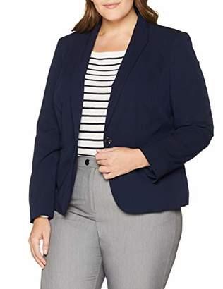 Simply Be Women's New PVL Shawl Collar Short Blazer Suit Jacket