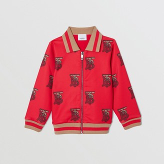 Burberry Monogram Motif Neoprene Track Top