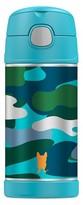 Thermos Portable Beverage Bottle - Blue Camo (16oz)