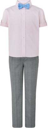 Monsoon Max Shirt, Trouser and Bow Tie Set Grey