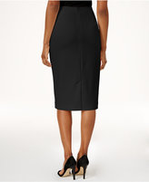 Below The Knee Pencil Skirt - ShopStyle