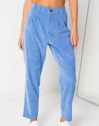 Daisy Street cigarette trousers in cord co-ord