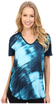 Calvin Klein Jeans Scoop Neck Print Blocked Tee