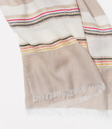 LOFT Textured Stripe Scarf