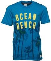 Bench Boys Palm Ocean T-Shirt Blue