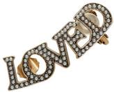 Gucci Gold Pearl 'Loved' Ear Cuff