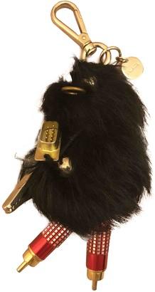 Prada Black Fox Bag charms