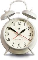 Newgate Clocks - The New Covent Garden Alarm Clock - Linen White