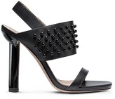 Calvin Klein Collection Resin Stud + Calf Sandal