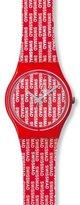 Swatch Women's Originals GR143 Plastic Swiss Quartz Watch