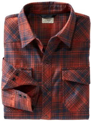 L.L. Bean Men's Overland Performance Flannel Shirt