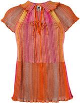M Missoni striped blouse