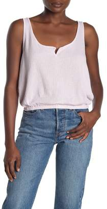 PST by Project Social T Notch Textured Tank