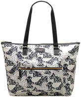 Radley Folk Dog Fabric Large Tote Bag, Ivory