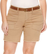 UNIONBAY Union Bay Midi Shorts-Juniors Plus