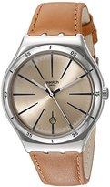 Swatch Men's YWS408C Analog Display Quartz Brown Watch
