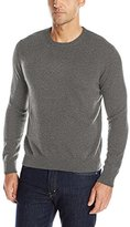Williams Cashmere Men's 100% Long-Sleeve Crew-Neck Sweater