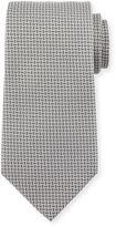 Charvet Micro-Grid Silk Tie