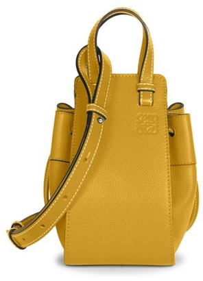 Loewe Mini Hammock Drawstring Leather Bag