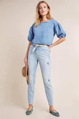 Closed Baker High-Rise Distressed Slim Jeans By in Blue Size 25