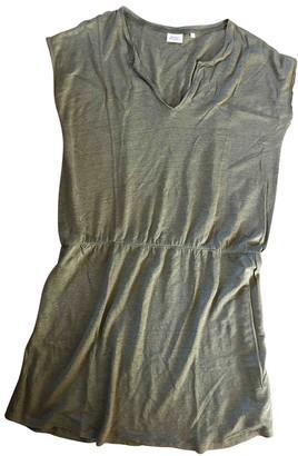 Hartford Khaki Linen Dress for Women
