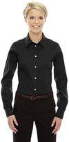 Devon & Jones Dg530W Women's Crown Solid Stretch Twill Shirt