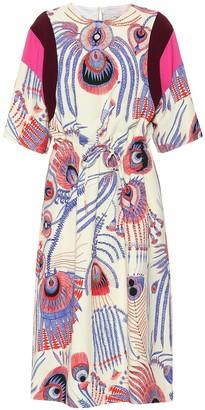 Dries Van Noten Dometta printed midi dress