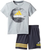 adidas Kids - Defender Shorts Set Boy's Active Sets