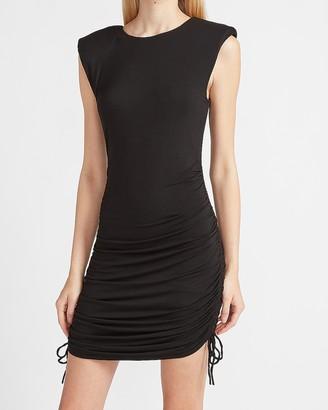 Express Ruched Side Sheath Dress