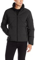 Nautica Men's Solid Down Quilted Jacket