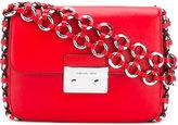 MICHAEL Michael Kors eyelet strap shoulder bag - women - Calf Leather - One Size