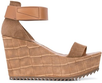 Pedro Garcia open-toe wedge sandals