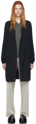 Frenckenberger Green Cashmere Straight Cardigan