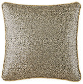 Waterford Vaughan Rope-Trimmed Sequined Dupioni Square Pillow