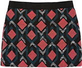 Milly GEOMETRIC JACQUARD SKIRT