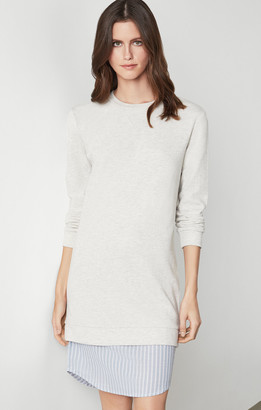BCBGMAXAZRIA Cotton Sweater Dress