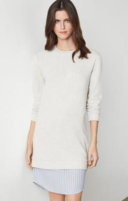 BCBGMAXAZRIA Cotton Sweater Dress