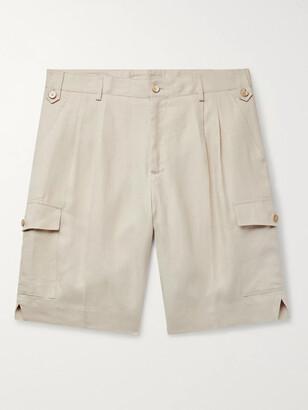 Dolce & Gabbana Linen Shorts
