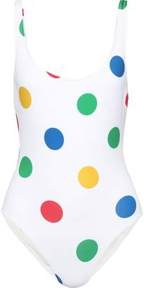 Solid & Striped The Anne Marie Polka-dot Swimsuit