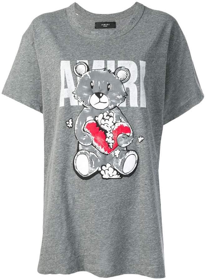 Amiri Bear print T-shirt