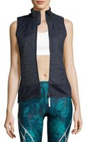 adidas by Stella McCartney Zip-Front Quilted Vest