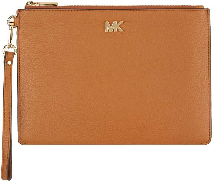 MICHAEL Michael Kors Pebbled Leather Clutch Bag