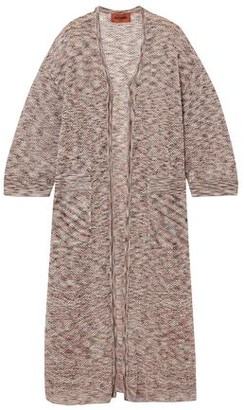 Missoni Open-knit Cotton Cardigan