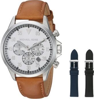 Michael Kors Men's Gage Brown Watch MK8565